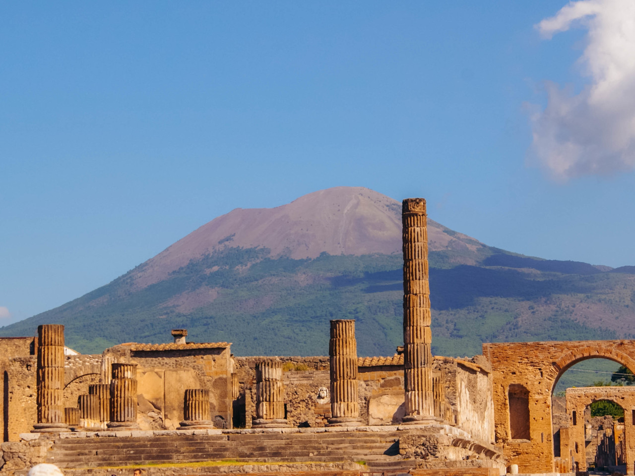 Pompei ed il Vesuvio